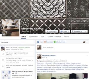 Idroceram è su Facebook